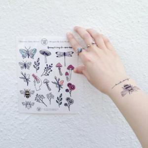 紋身貼紙如何使用